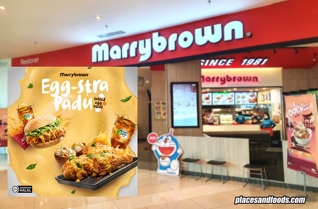 marrybrown salted egg