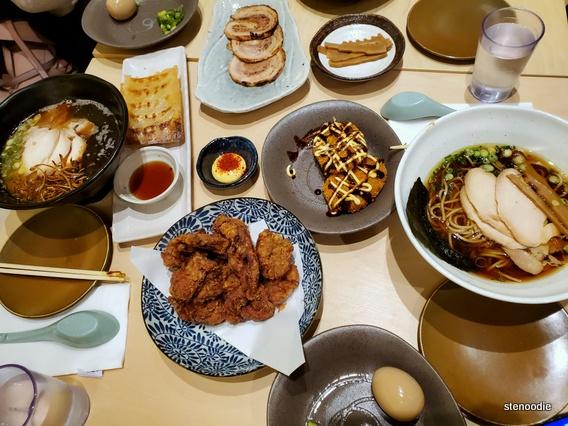 Ramen Yutaka dinner