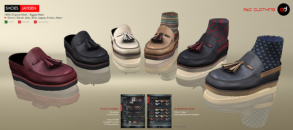 ! A&D Clothing – Shoes -Jayden-   NewRelease