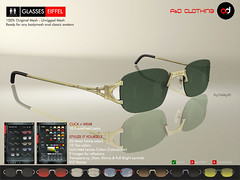 ! A&D Clothing - Glasses -Eiffel-  Deluxe