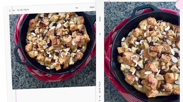 Apple Bread Pudding Tanvii.com
