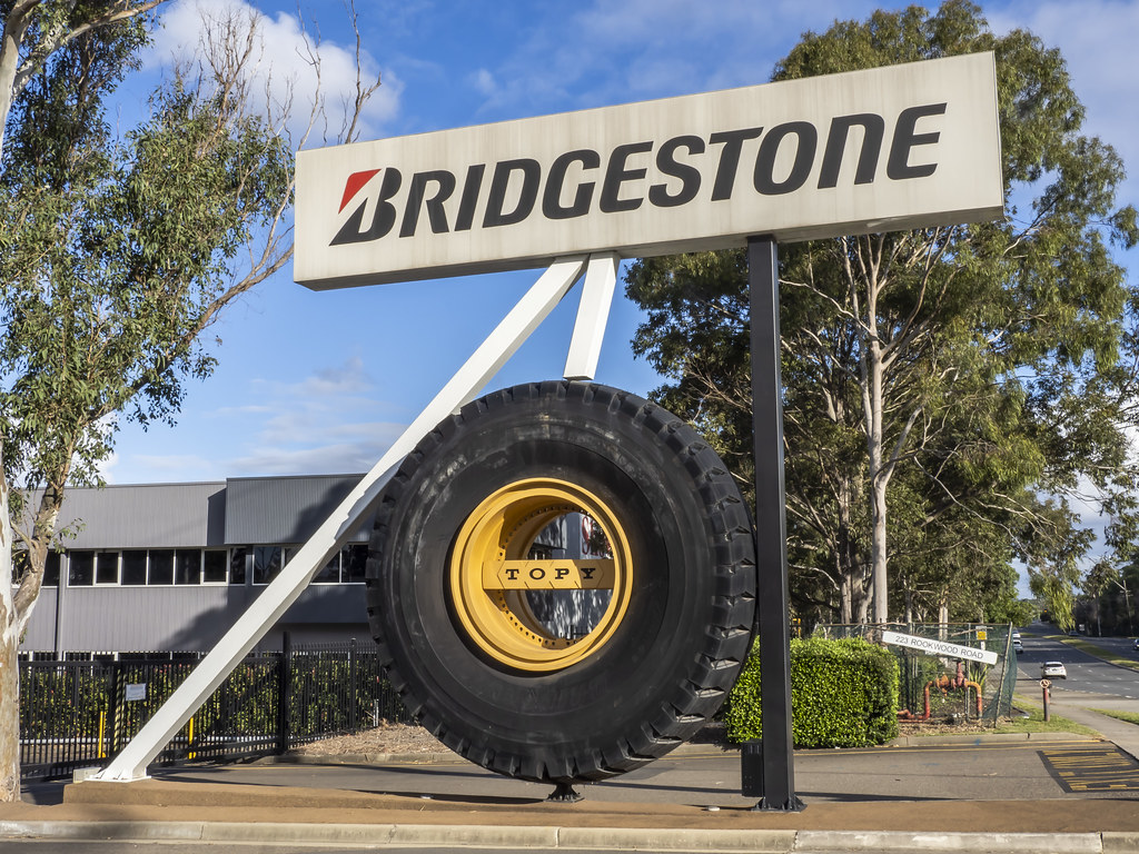 Large Tyre - life size but still BIG