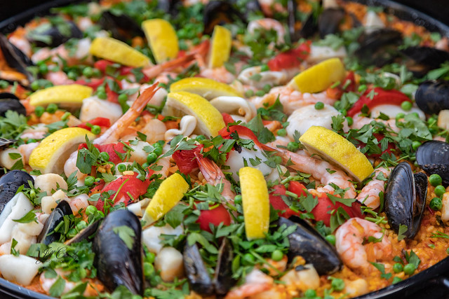 Armchair Traveling - Paella for a Family Vacation
