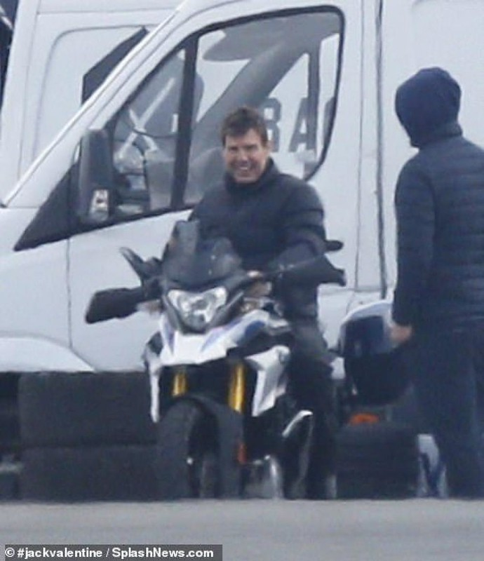 Tom Cruise Mission: Impossible-7 Shooting BMW