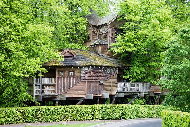 The Treehouse, The Alnwick Garden, Alnwick, England