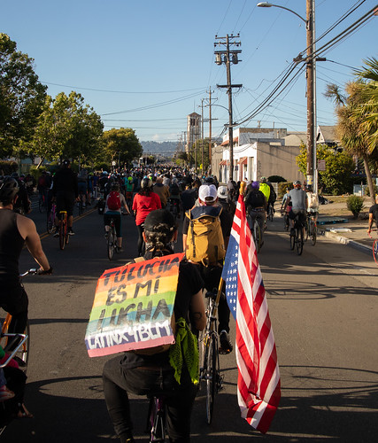 East Bay Bike Party solidarity ride | by Tom Holub