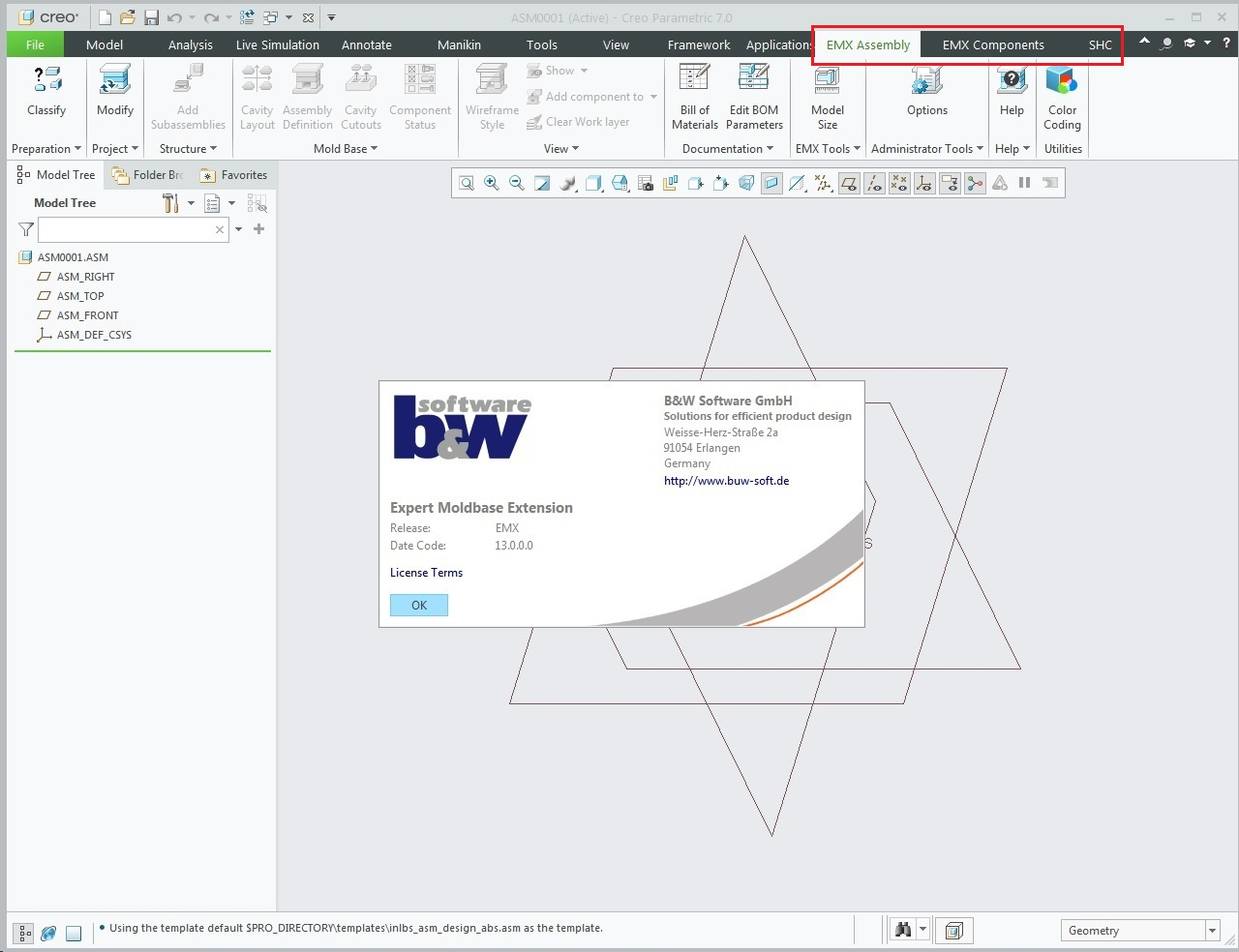 Working with PTC Creo EMX 13.0.0.0 for Creo 7.0 full license