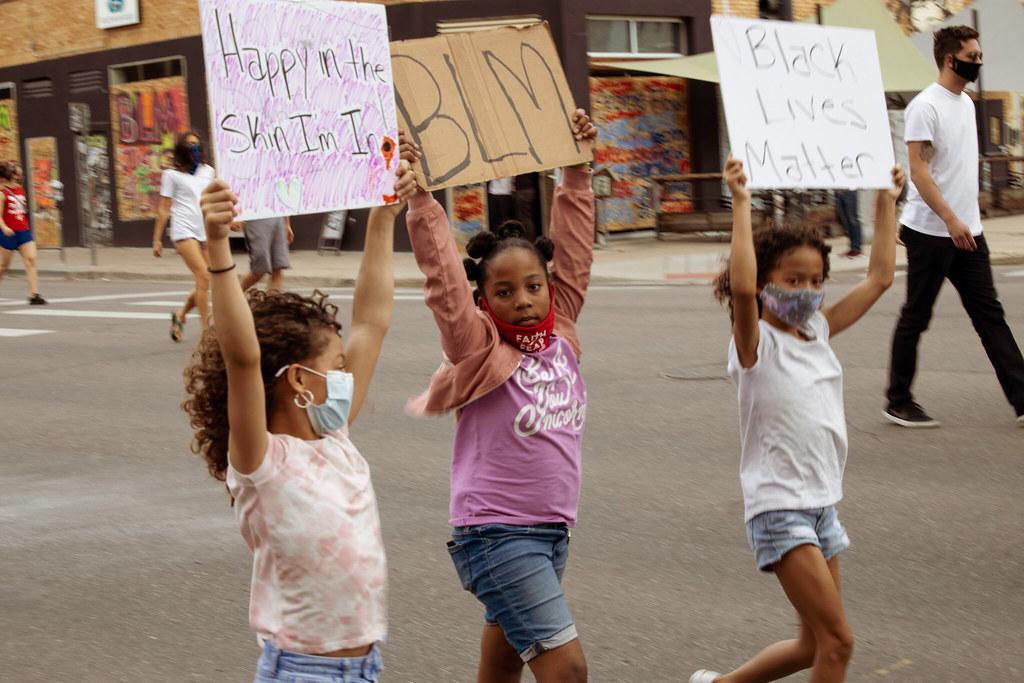 Black Lives Matter march Denver 6.8.2020