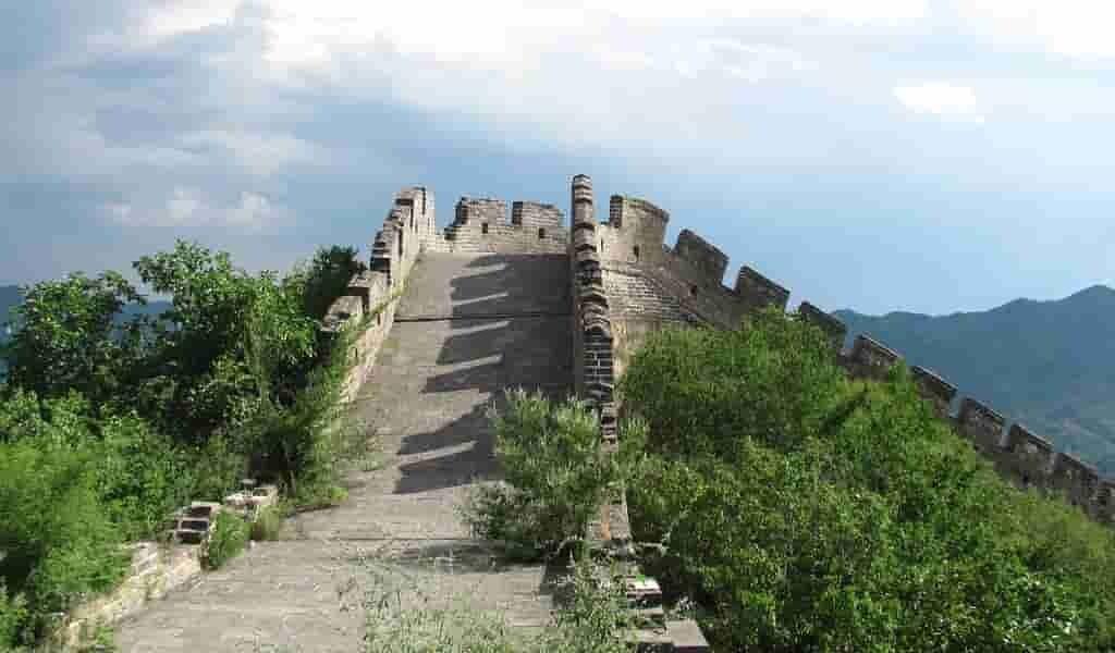 Cartographier le précurseur de la Grande Muraille de Chine