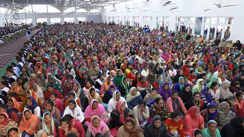A mammoth gathering in Amritsar Bhawan