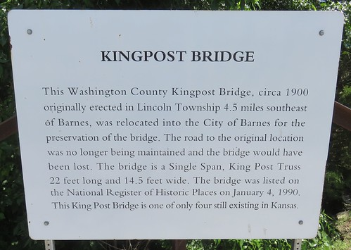 kansas ks bridges washingtoncounty barnes northamerica unitedstates us