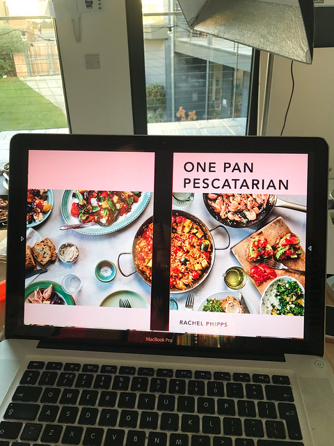 Behind The Scenes One Pan Pescatarian Cover Shoot