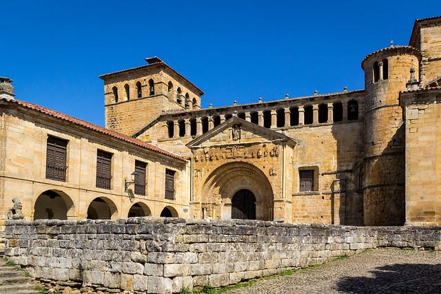 Spain - Cantabria - Santillana del Mar - Colegiata de Santa Juliana