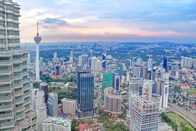 FRom Top Of Petronas Twin Towers, Kuala Lumpur