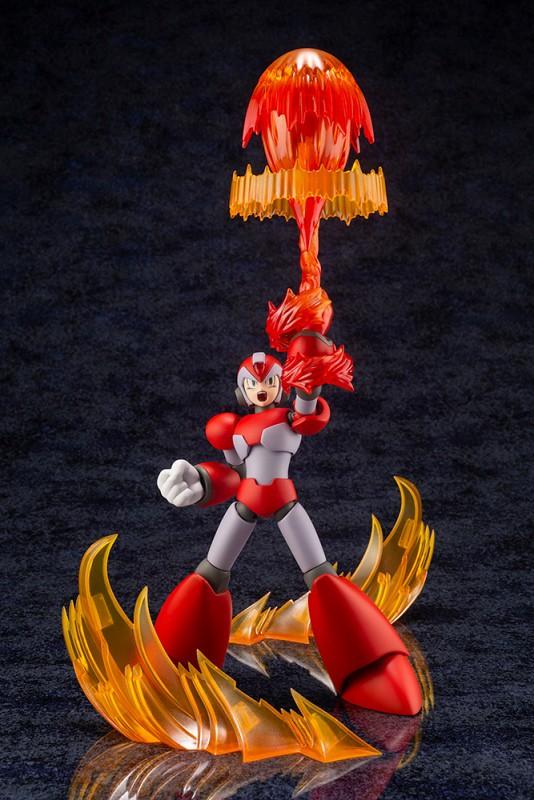 YOU GOT RISING FIRE!壽屋《洛克人X》艾克斯 上升火焰 Ver.(エックス ライジングファイアVer.)1/12 比例組裝模型