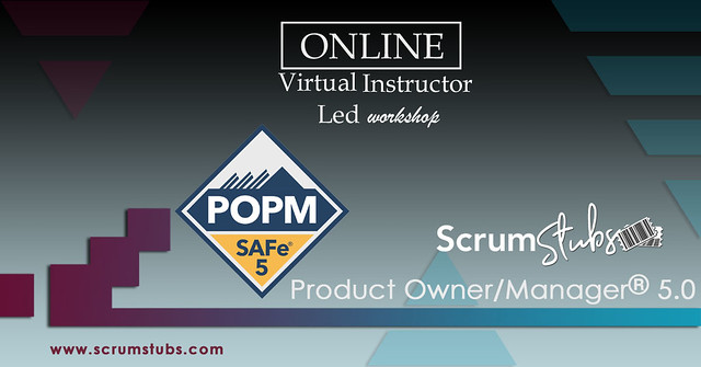 Product Owner | Product Manager | POPM |  Virtual Instructor Led Workshop | Professional Trainers  |