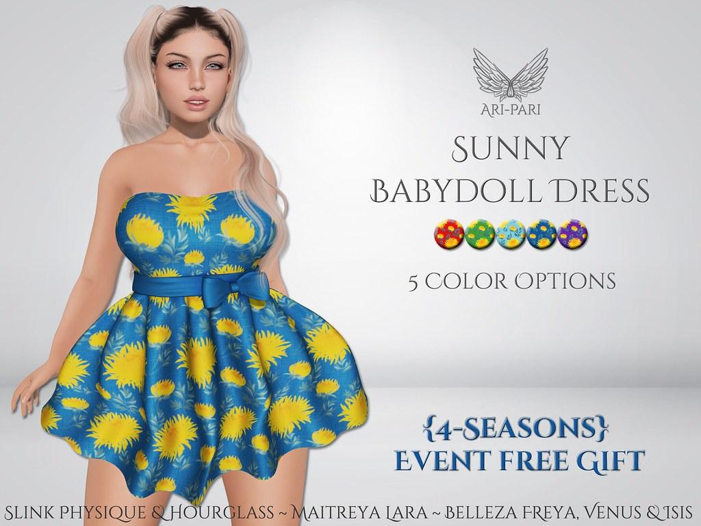 [Ari-Pari] Sunny Babydoll Dress