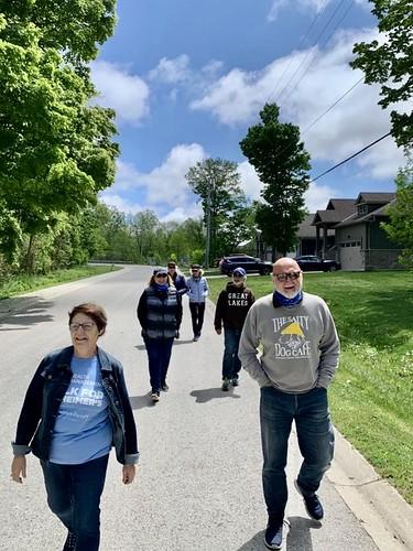 Deb and Friends Neighbourhood Walk in Grand Bend