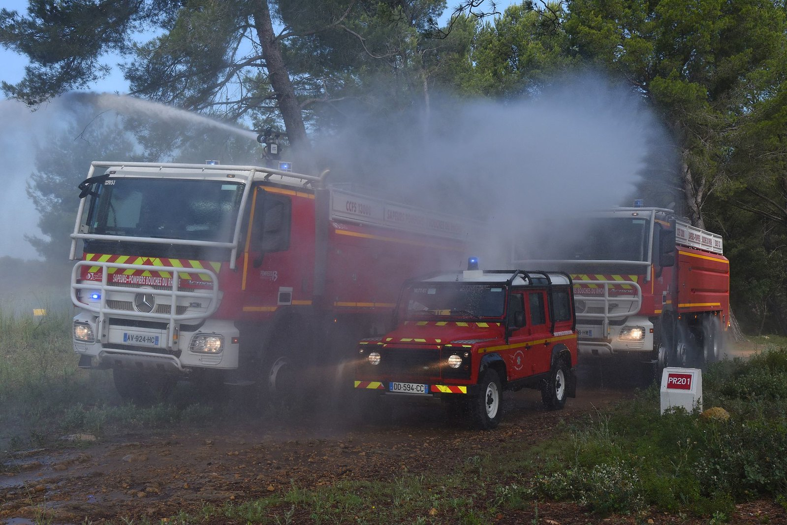 Les Pompiers13 en ordre de marche pour la saison estivale
