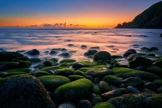 Campelo beach sunset