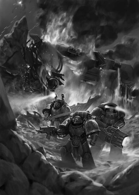 «Ересь Хоруса. Осада Терры: Сыны Селенара» | Sons of the Selenar, a Siege of Terra novella