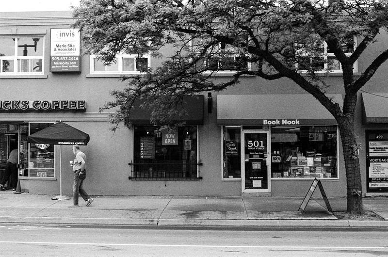 Between Starbucks and the Book Nook