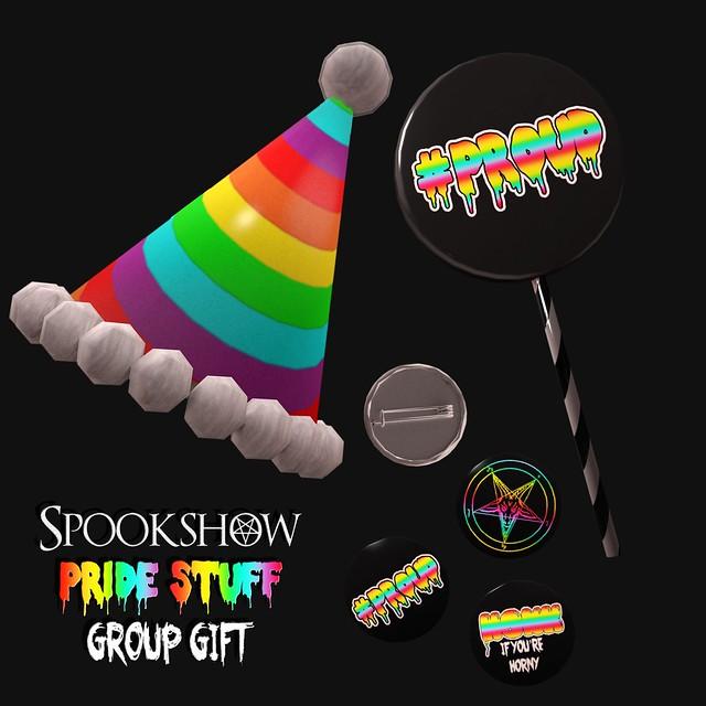 Spookshow - Pride Stuff! - FREE Group Gift