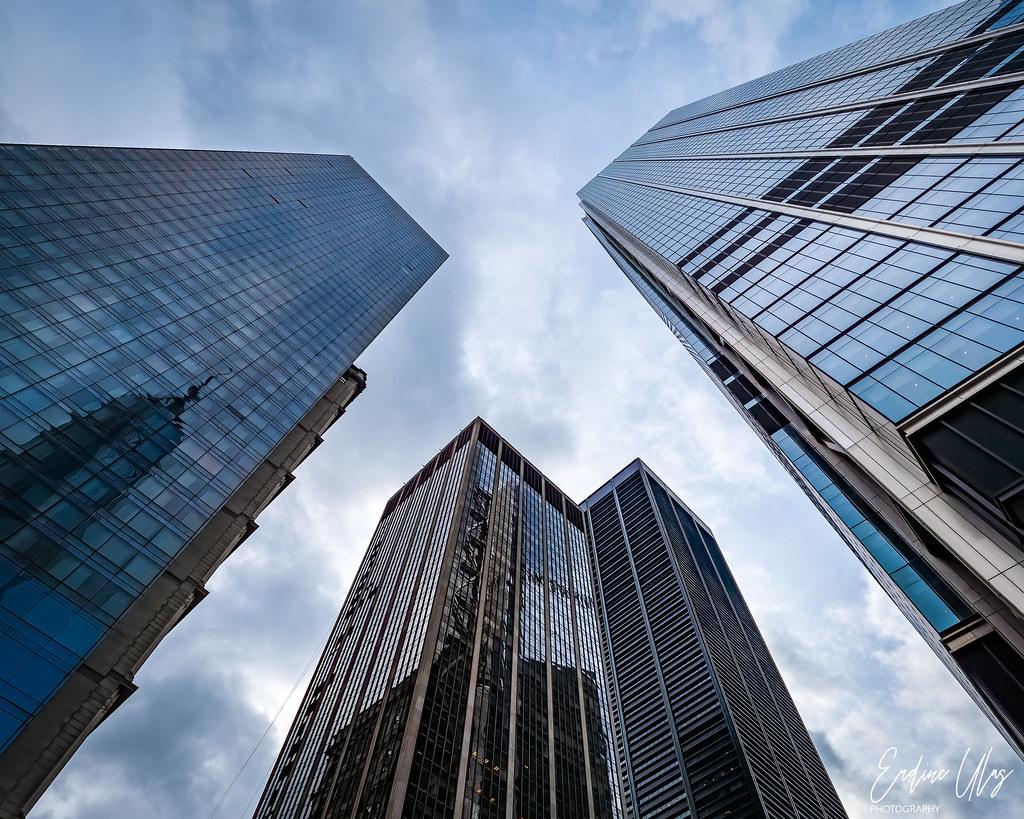 Skycrapers in New York City