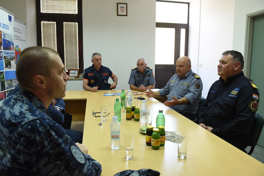 Radni posjet vatrogasnoj zajednici Istarske i Primorsko- goranske županije
