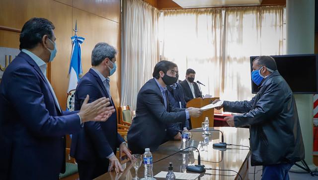 """2020-06-09 PRENSA: El gobernador Uñac recibió a la comunidad LGTBQ en la presentación del Programa """"Emprender en diversidad"""""""