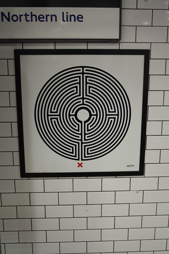 Art on the Underground Labyrinth 66 Elephant and Castle