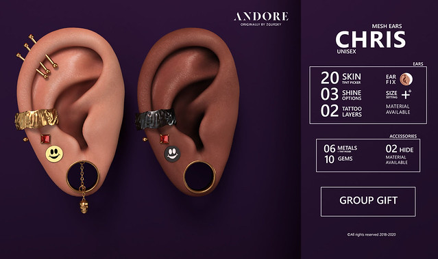 :ANDORE: @ NEW EXCLUSIVE GROUP GIFT