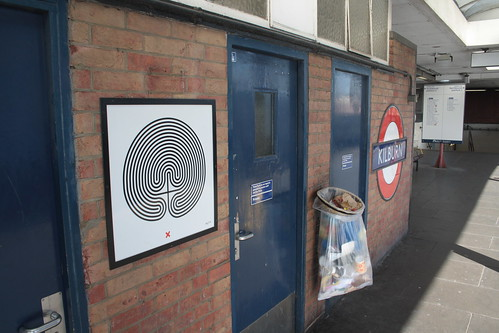 Art on the Underground Labyrinth 195 Kilburn