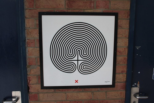 Art on the Underground Labyrinth 195 Kilburn close up