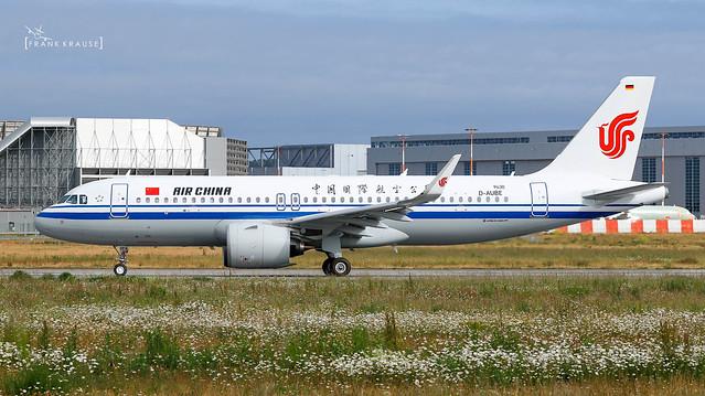 B-30FA AIR CHINA AIRBUS A320-271N cn 9430 (D-AUBE)