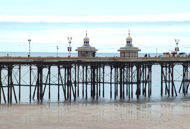 A pier at Blackpool