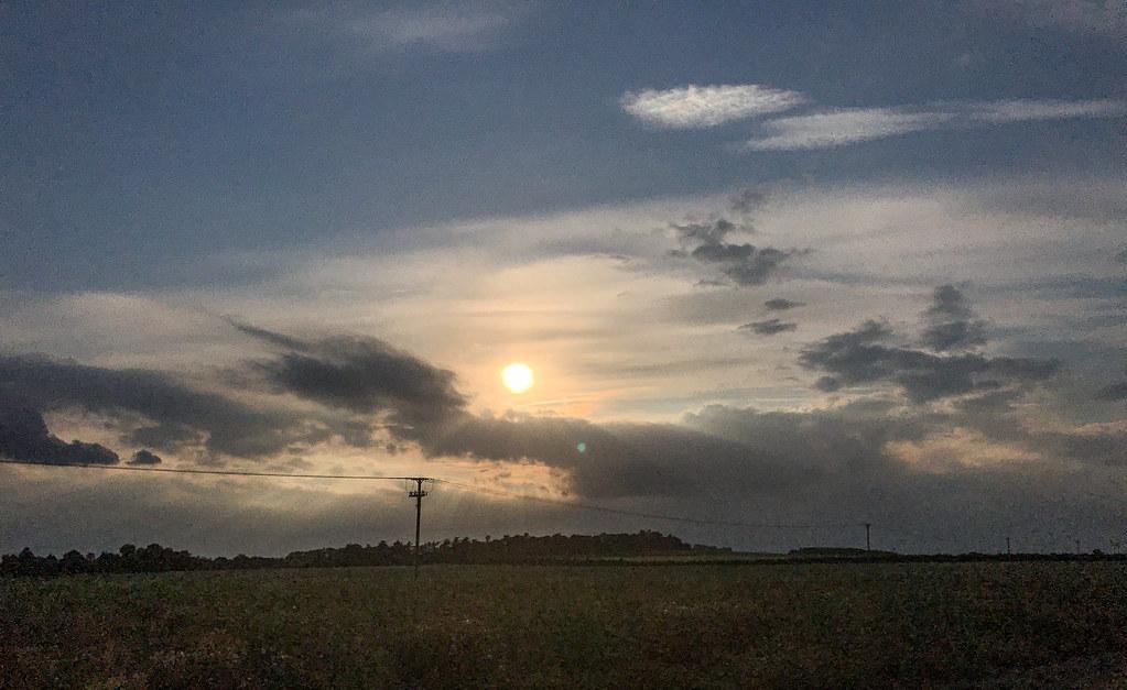Running sunsets