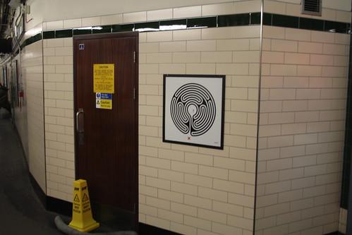 Art on the Underground Labyrinth 100 Temple