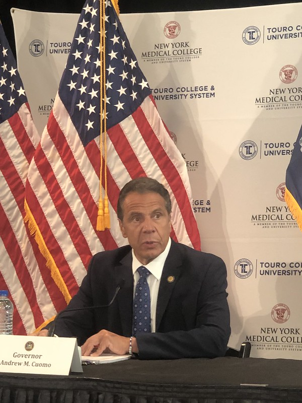 Governor Cuomo Holds Briefing at NYMC Center for Disaster Medicine