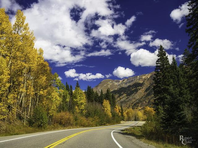 Rocky Mountain Autumn Highway
