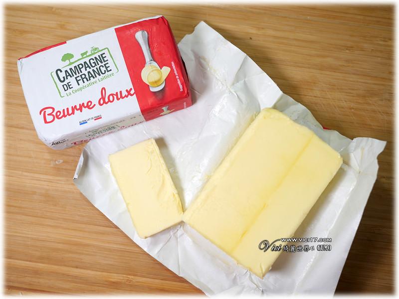 法國綠山農場諾曼第無鹽奶油027