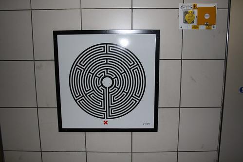 Art on the Underground Labyrinth 64 Waterloo