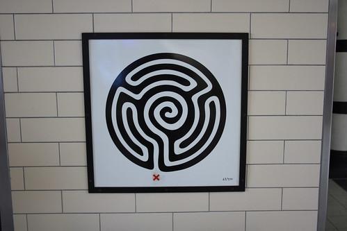 Art on the Underground Labyrinth 63 Embankment