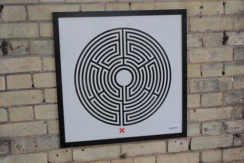Art on the Underground Labyrinth 43 Harrow and Wealdstone