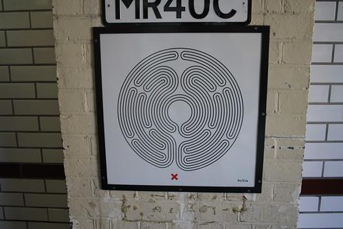 Art on the Underground Labyrinth 40 Northwick Park Close