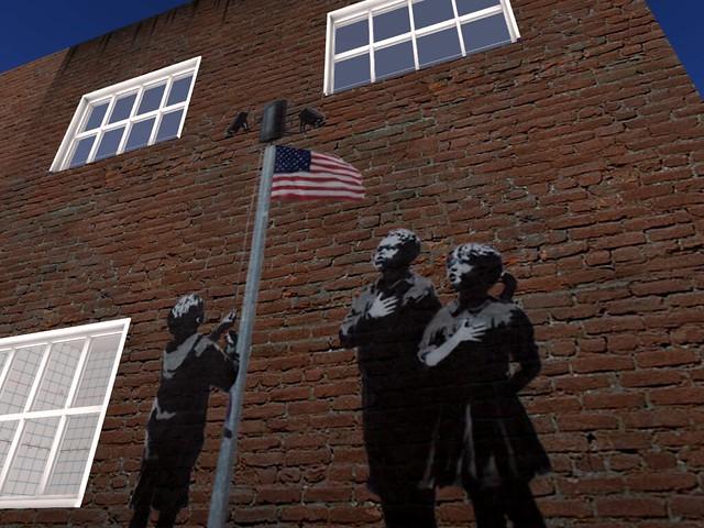 Walls of Freedom -Pledging Allegiance