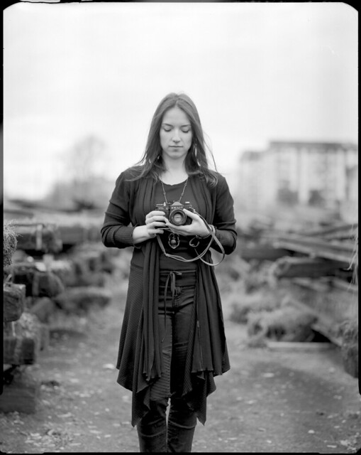 Young apprentice and her Zenit