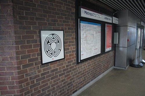 Art on the Underground Labyrinth 191 Wembley Park