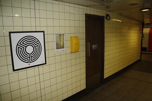 Art on the Underground Labyrinth 174 Warren Court
