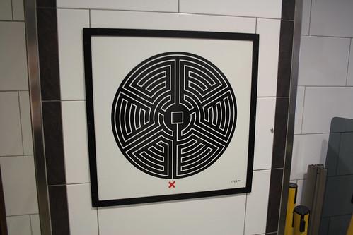 Art on the Underground Labyrinth 139 Holborn